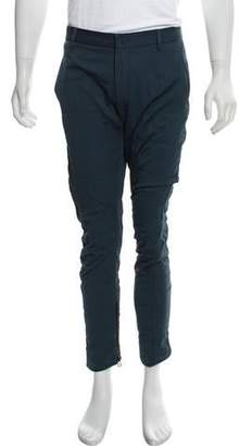 Lanvin Quilted Zip-Accented Pants