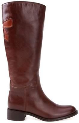 Sarah Chofakian low-heel boots
