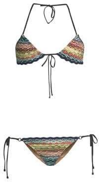Missoni Mare Raschel Two-Piece String Bikini