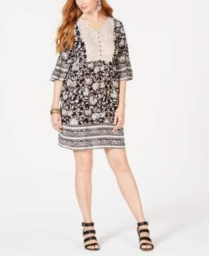 Style&Co. Style & Co Floral-Print Boho Dress, Created for Macy's