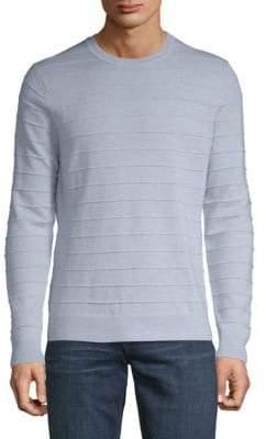 Saks Fifth Avenue Ottoman Stitch Wool Sweater