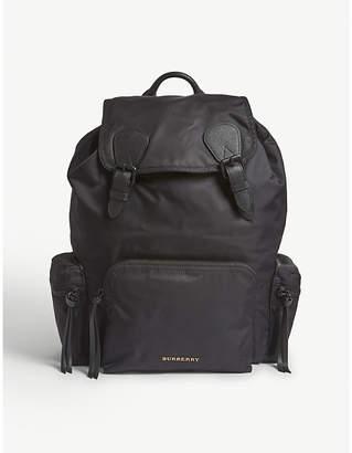 Burberry Brand-embossed rucksack