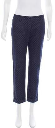 Dolce & Gabbana Patterned Mid-Rise Jeans