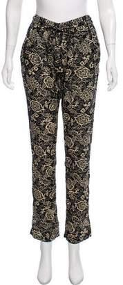 Etoile Isabel Marant Mid-Rise Casual Pants