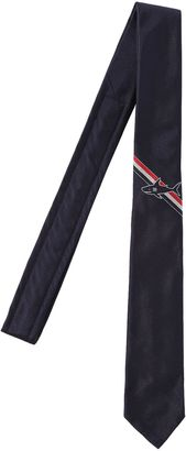 Silk Jacquard Tie W/ Shark Detail $220 thestylecure.com