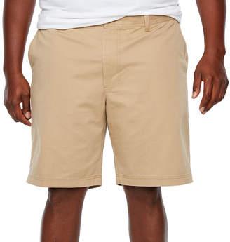 Izod Washed Chino Short Chino Shorts-Big
