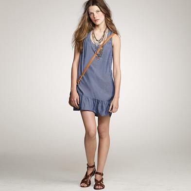 Lightweight cotton shore dress
