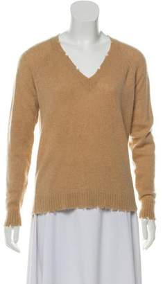 Minnie Rose Cashmere Long Sleeve Sweater