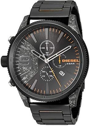 Diesel Men's Rasp Chrono 50 IP Watch DZ4469