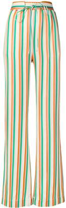 Pinko Giorgia striped trousers