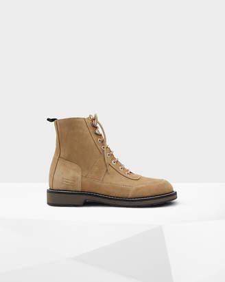 Hunter Men's Original Suede Commando Boots