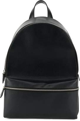 DSQUARED2 structured leather backpack