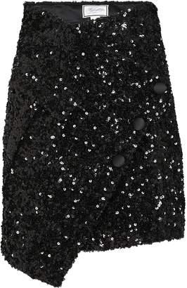 Redemption Sequin-Embellished Mini Skirt
