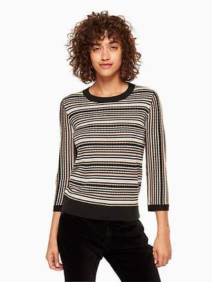 Kate Spade Multi stripe sweater