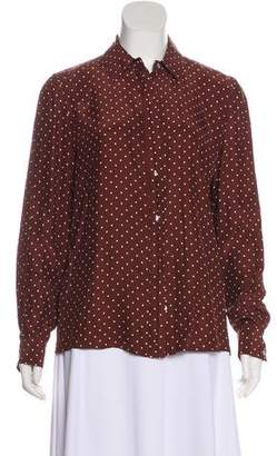 Frame Silk Andorra Button-Up