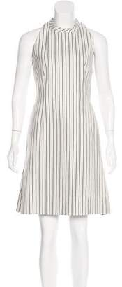 Akris Punto Striped Mini Dress
