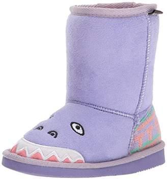 Muk Luks Girls' Cera Dinosaur Fashion Boot