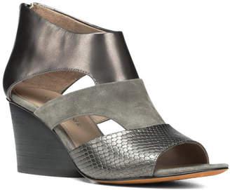 Donald J Pliner Jenkin Leather Wedge Sandal