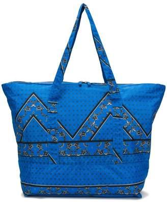 Ganni patterned tote bag