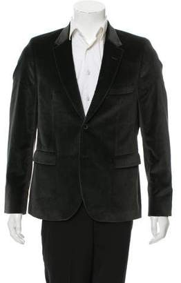 Paul Smith Velvet Two-Button Blazer