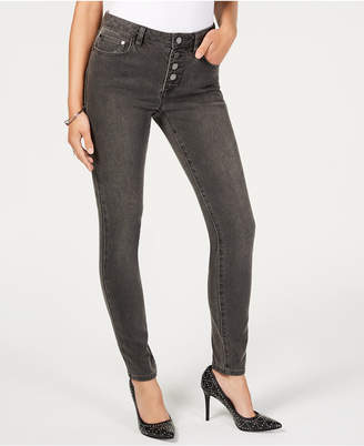 Michael Kors Button-Up Skinny Jeans