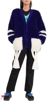 Off-White Off White Carpet Sporty Oversized Cardigan