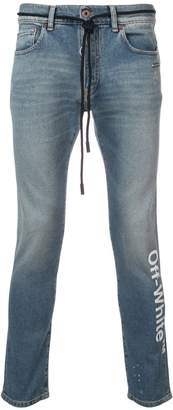 Off-White skinny fitted jeans