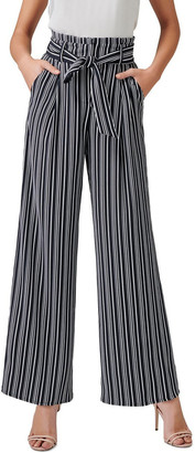 Forever New Andie High Waist Wide Legs Pants
