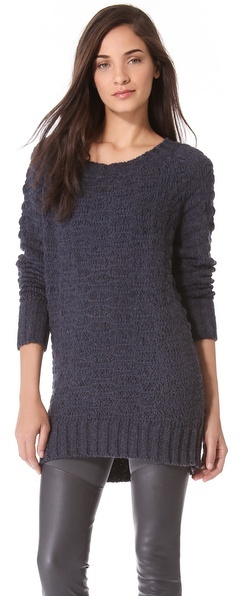 Donna Karan Long Sleeve Sweater
