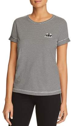 Kate Spade Striped Racoon Cotton Tee