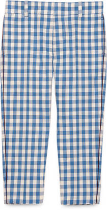 Children's check wool pant $425 thestylecure.com