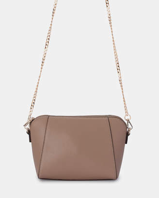 Olga Berg Kim Zip Top Shoulder Bag