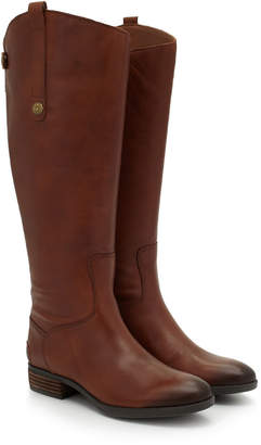 0a1609bba83d3 Sam Edelman Penny2 Wide Calf Leather Riding Boot