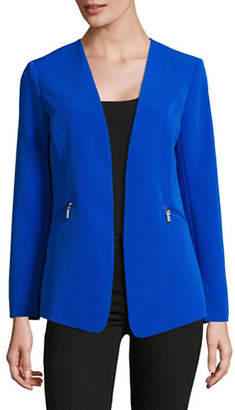 Vince Camuto Zip-Pocket Blazer