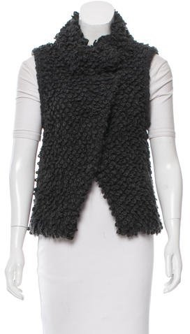 IRO Iro Notch-Lapel Bouclé Vest
