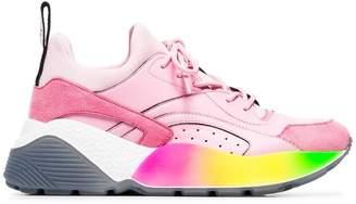 Stella McCartney Eclypse rainbow print sneakers