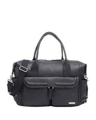 Storksak Charlotte Leather Diaper Bag Tote