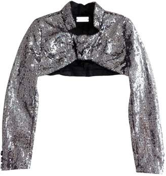 Alexis Mabille Metallic Glitter Jackets