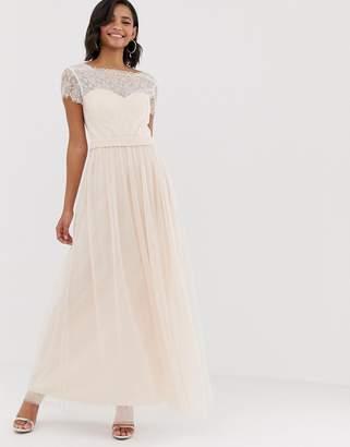 fe29edd14a26b Little Mistress short sleeve maxi dress