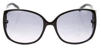 Tod's Oversize Square Sunglasses