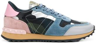 Valentino camo Rockstud sneakers