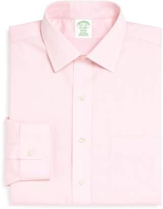 Brooks Brothers Trim Fit Solid Dress Shirt