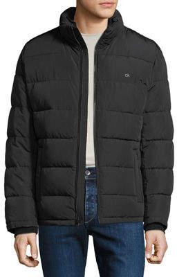 Iconic American Designer Men's Classic Puffer Jacket