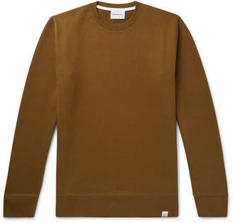 Norse Projects Vagn Loopback Cotton-Jersey Sweatshirt - Men - Neutrals