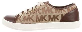 Michael Kors Michael City Monogram Sneakers