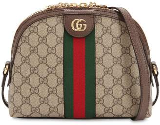 41ffa47cc8a Gucci Brown Top Zip Shoulder Bags - ShopStyle