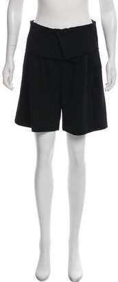 Max Mara Pleated Knee-Length Shorts