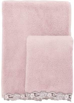 La Perla Petite Maison Set Of 2 Cotton Towels