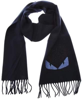 3c78fe97af8 Fendi Blue Men s Scarves - ShopStyle
