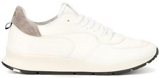 Philippe Model contrast counter heel sneakers